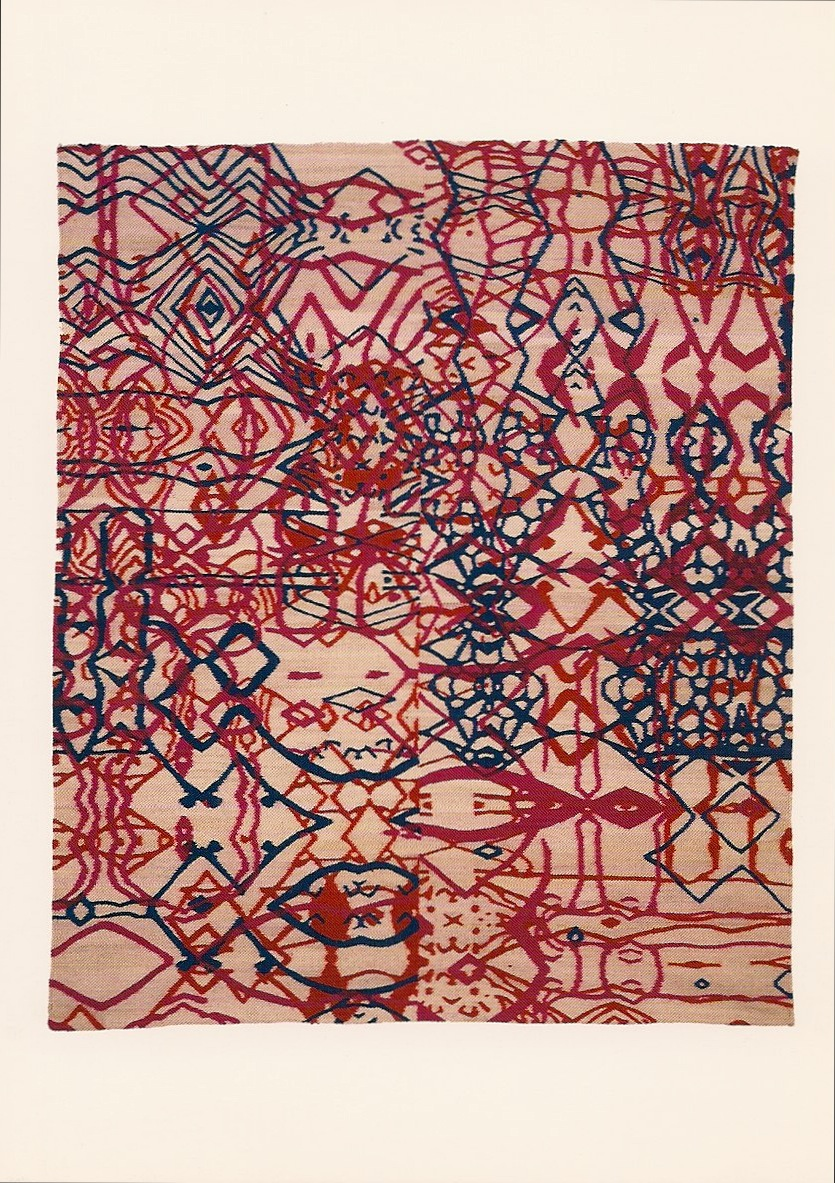 Carl Fudge Untitled,1997 67 x 56 inches Edition of 6 with 3 proofs