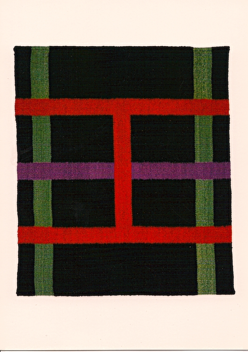 Keith Sonnier  Prayer Rug I,  1998 39 x 34 inches Edition of 6 with 3 proofs