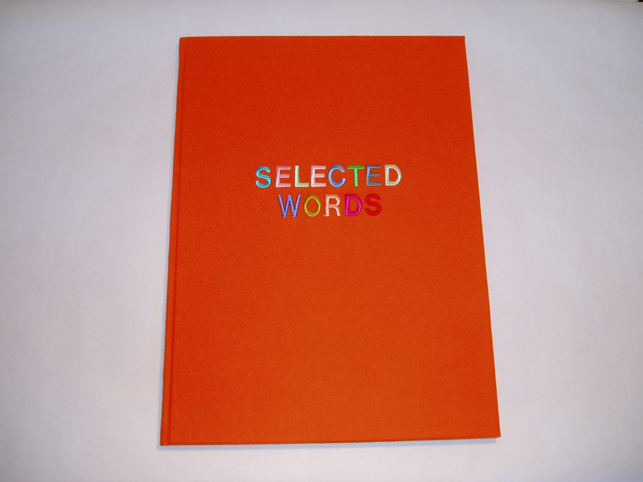 10. Selected Words orange cover.jpg