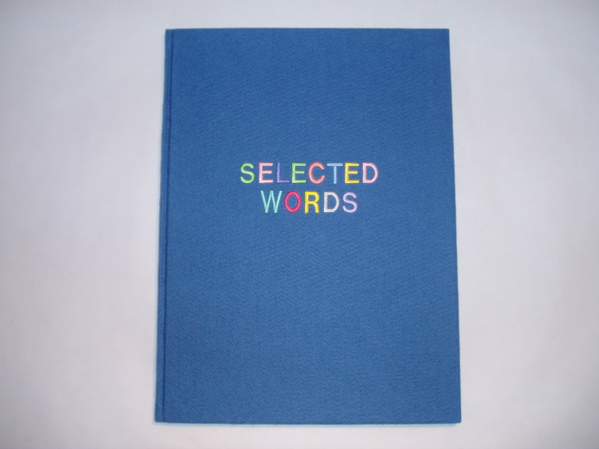 13. Selected Words blue cover.jpg