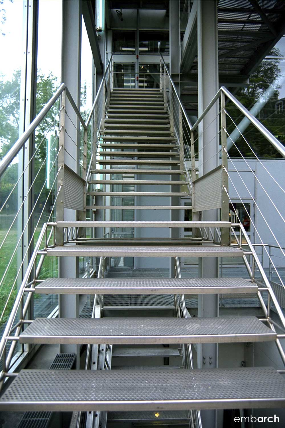 Cartier Foundation - stair