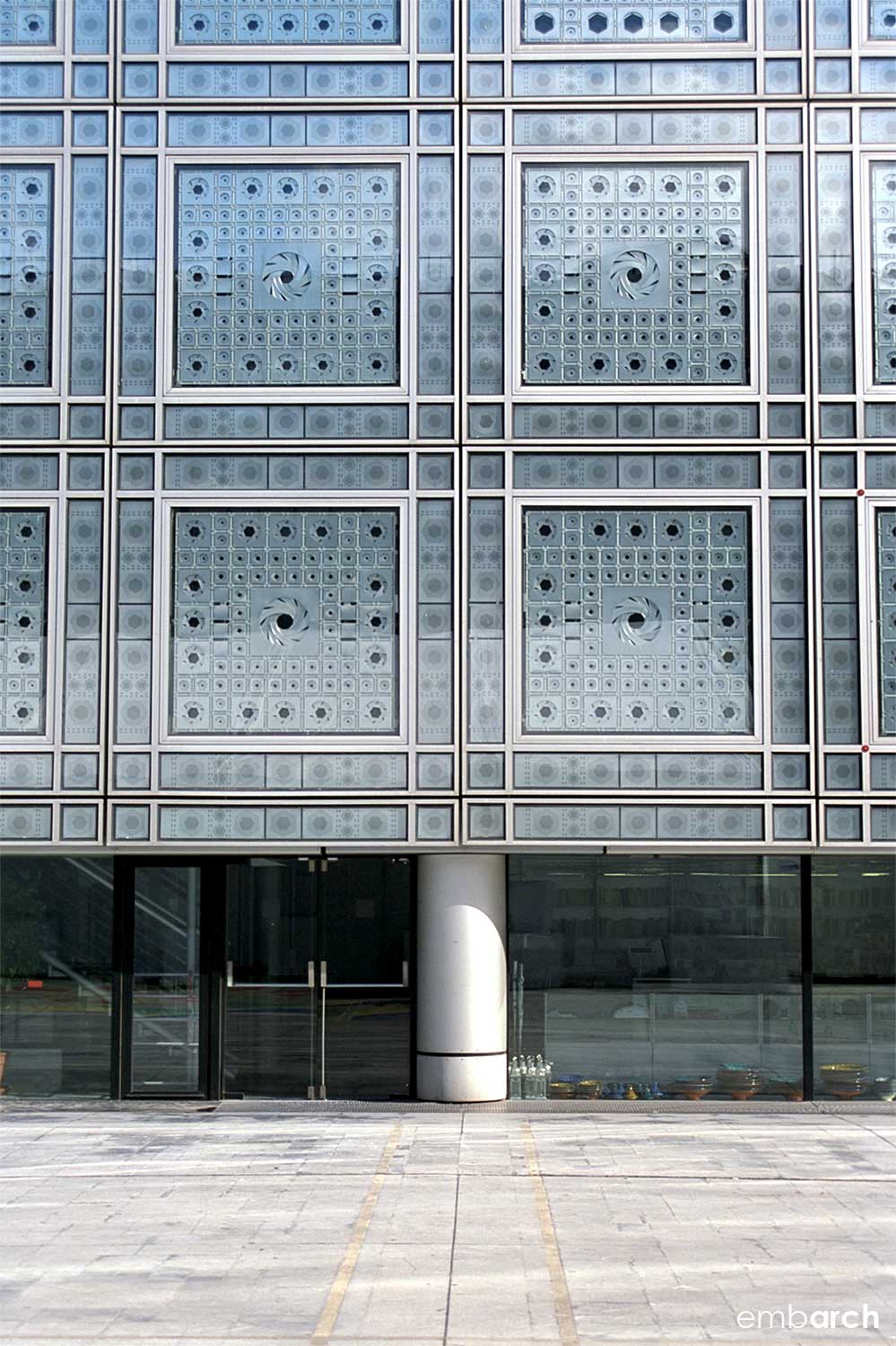 Arab World Institute - facade detail