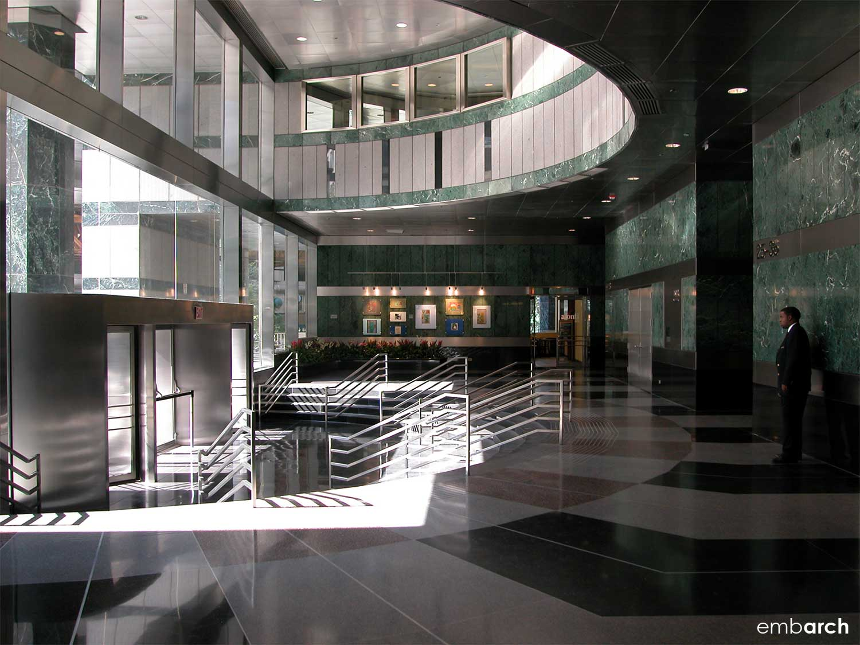 333 West Wacker Drive - lobby interior