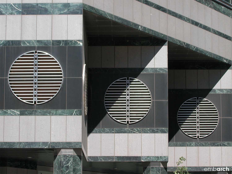 333 West Wacker Drive - facade detail