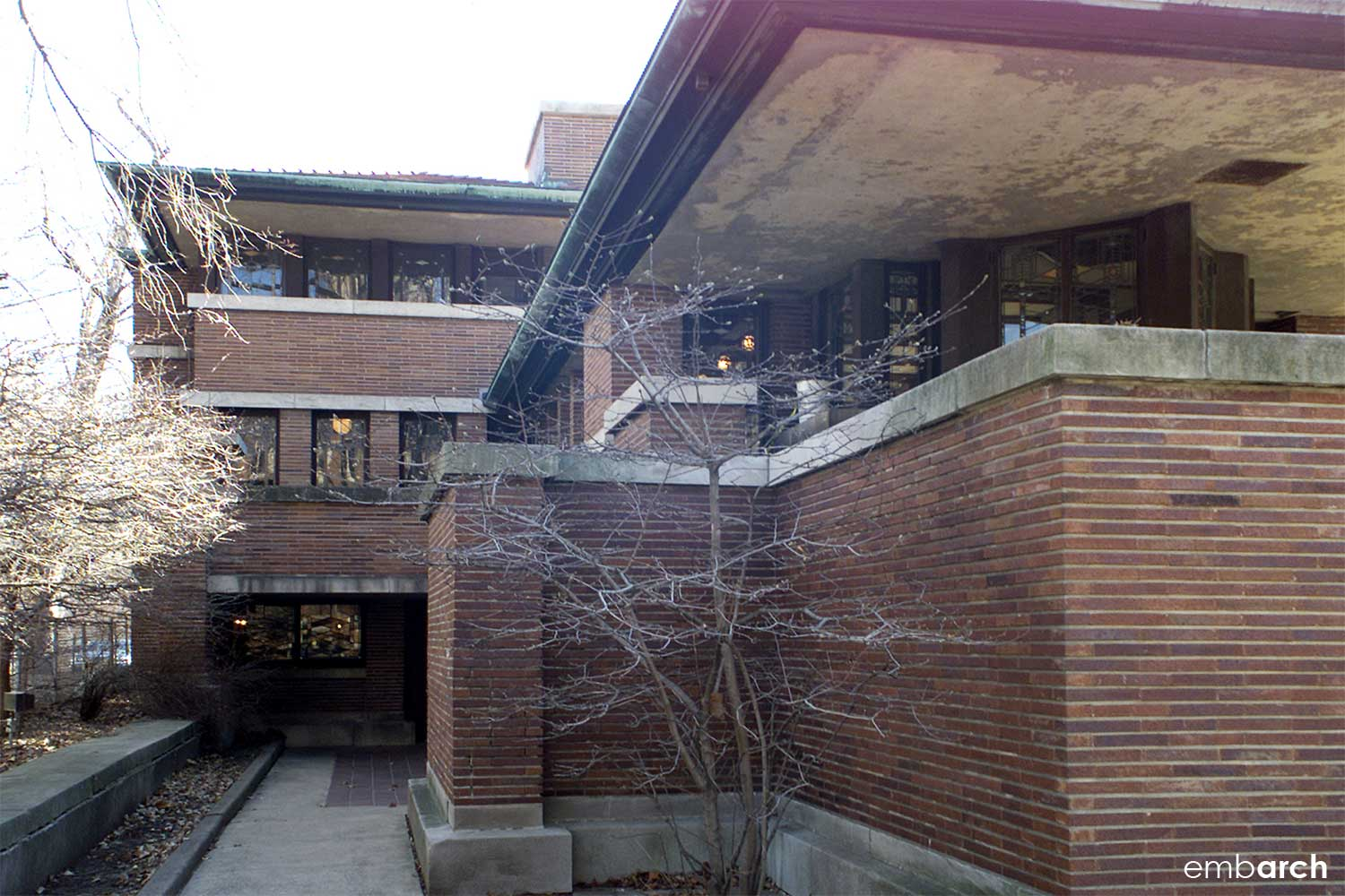 Robie House - entry view