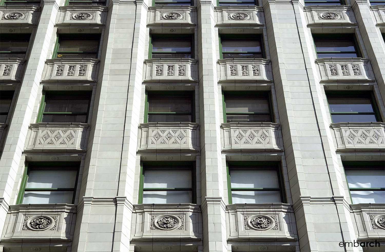 Wrigley Building - facade detail