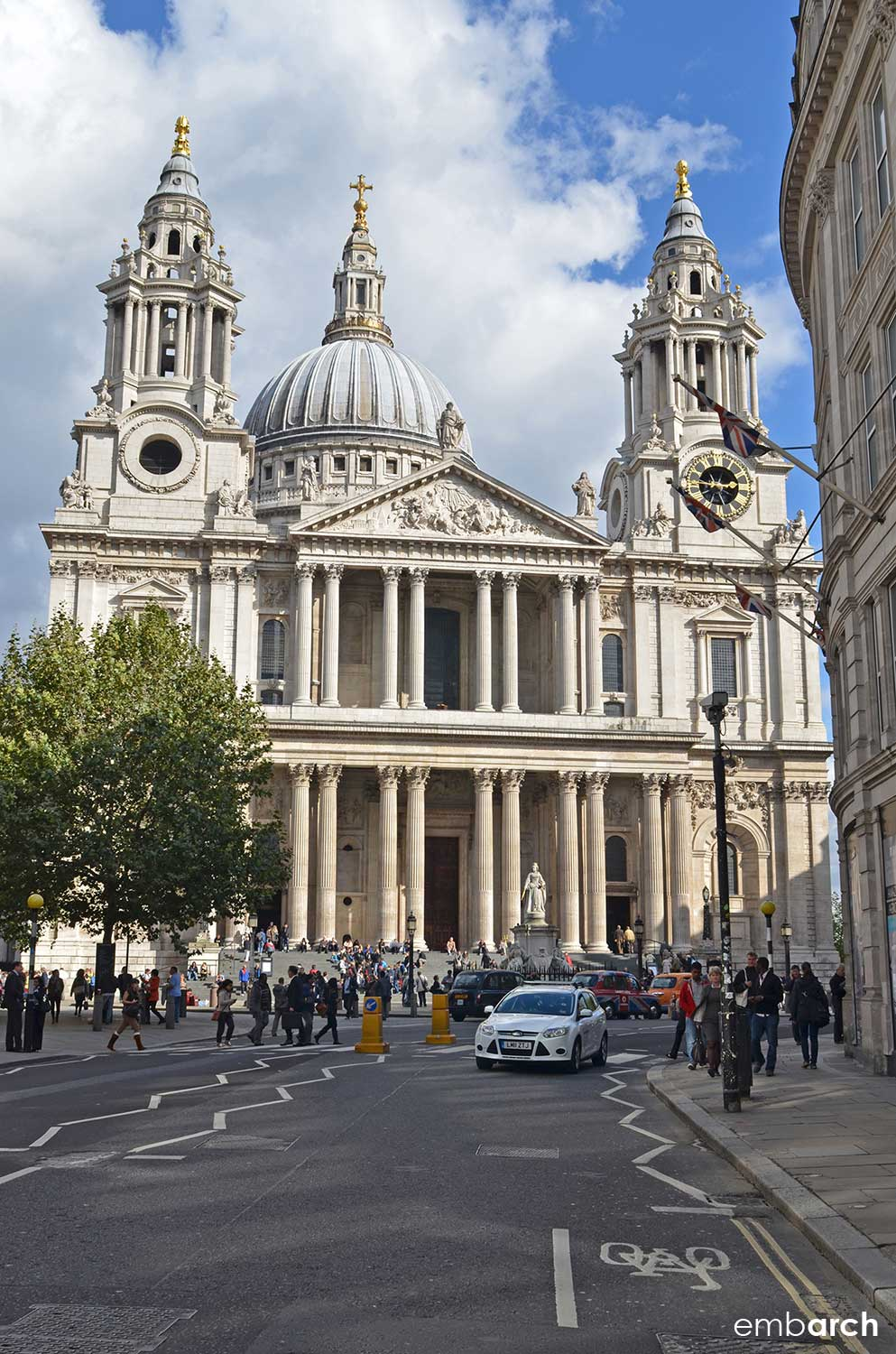 St. Paul's Cathedral - exterior main elevation