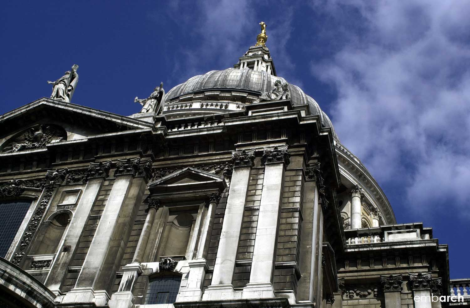 St. Paul's Cathedral - exterior detail