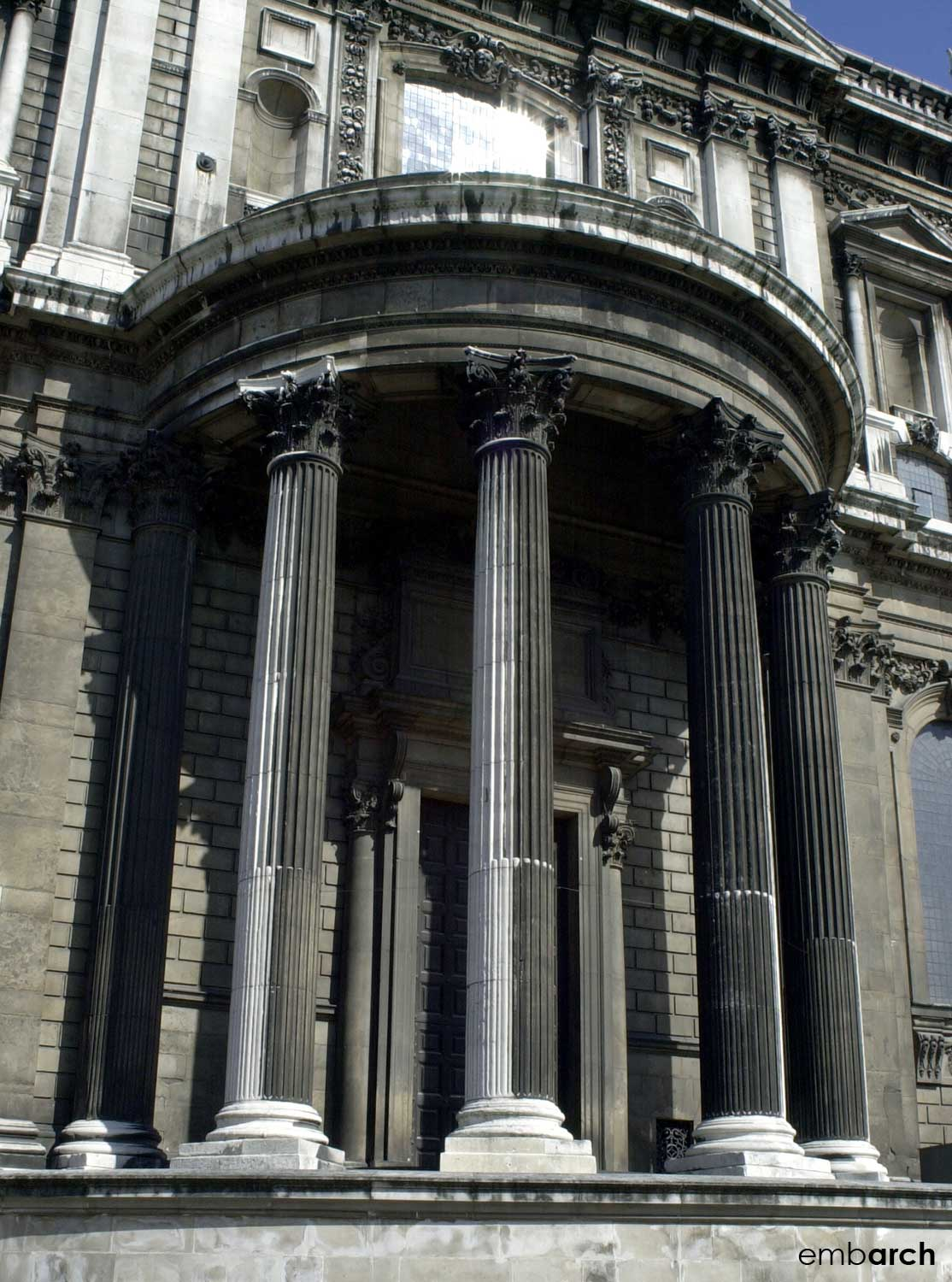 St. Paul's Cathedral - facade detail