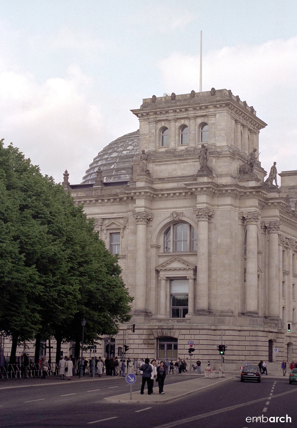 Reichstag Building - building exterior