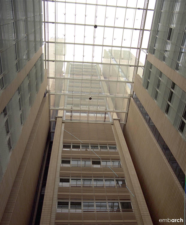 Potsdamer Platz - atrium glass ceiling