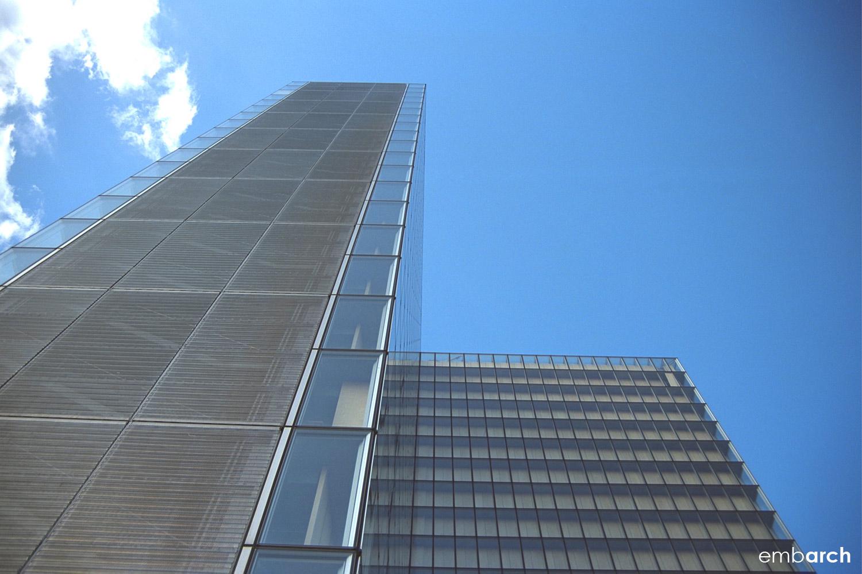 Bibliotheque Nationale - exterior facade