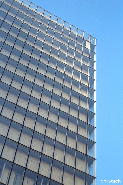 Bibliotheque Nationale - exterior facade detail