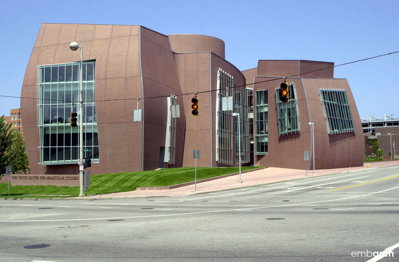 Vontz Center for Molecular Studies - building exterior