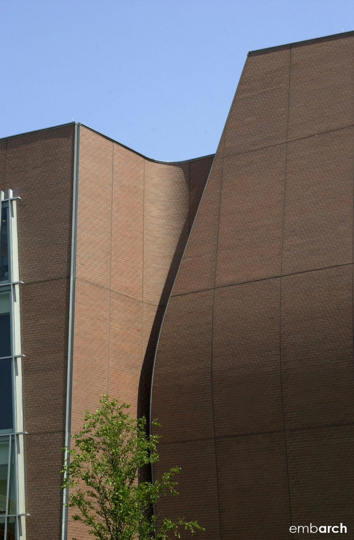 Vontz Center for Molecular Studies - exterior detail