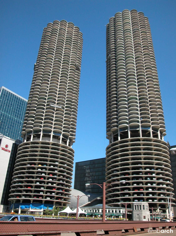 Marina City Towers - building exterior