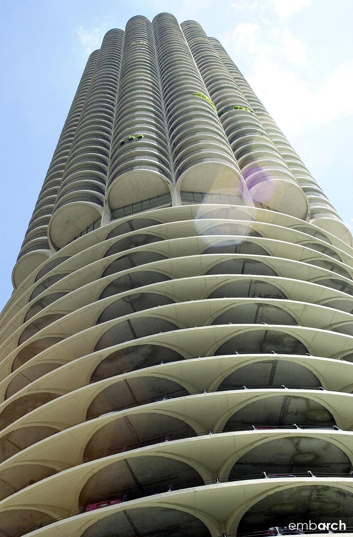 Marina City Towers - exterior
