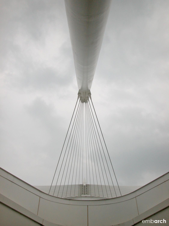 Quadracci Pavilion at the Milwaukee Art Museum - exterior structural element