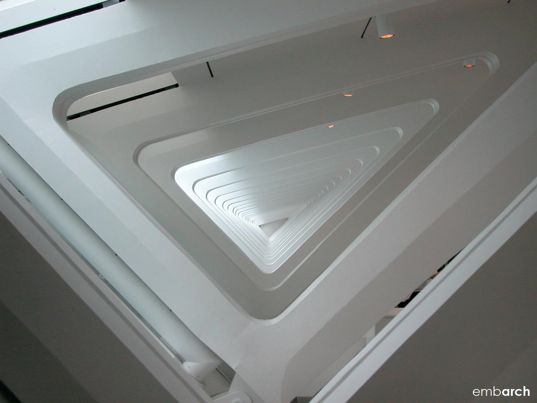 Quadracci Pavilion at the Milwaukee Art Museum - interior structural element