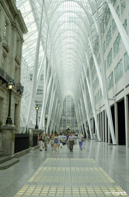 Allen Lambert Galleria - interior