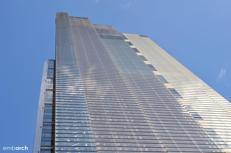 Heron Tower - exterior