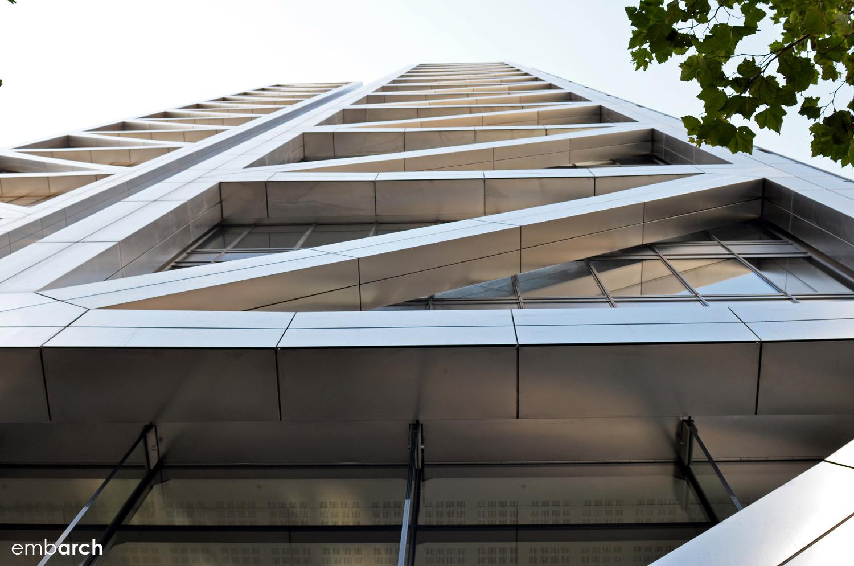 Heron Tower - exterior detail
