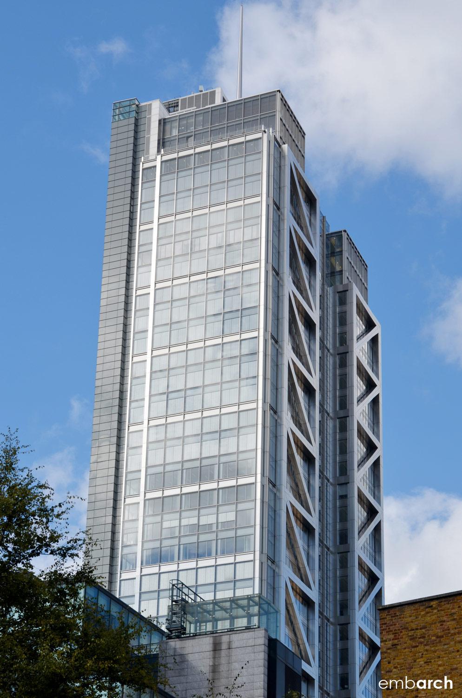 Heron Tower - building exterior