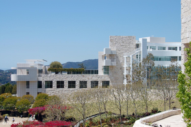 Getty Center - exterior view