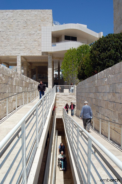 Getty Center - exterior walkways