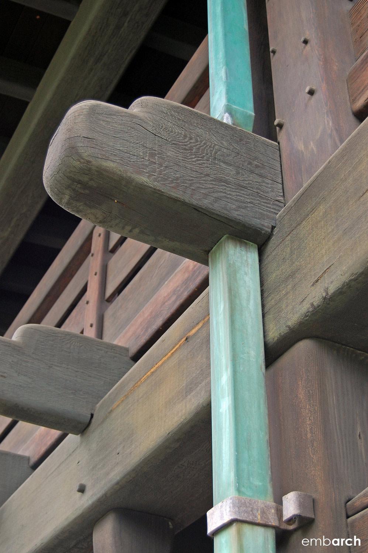 Gamble House - exterior detail