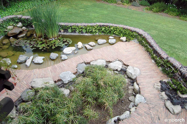 Gamble House - exterior garden path