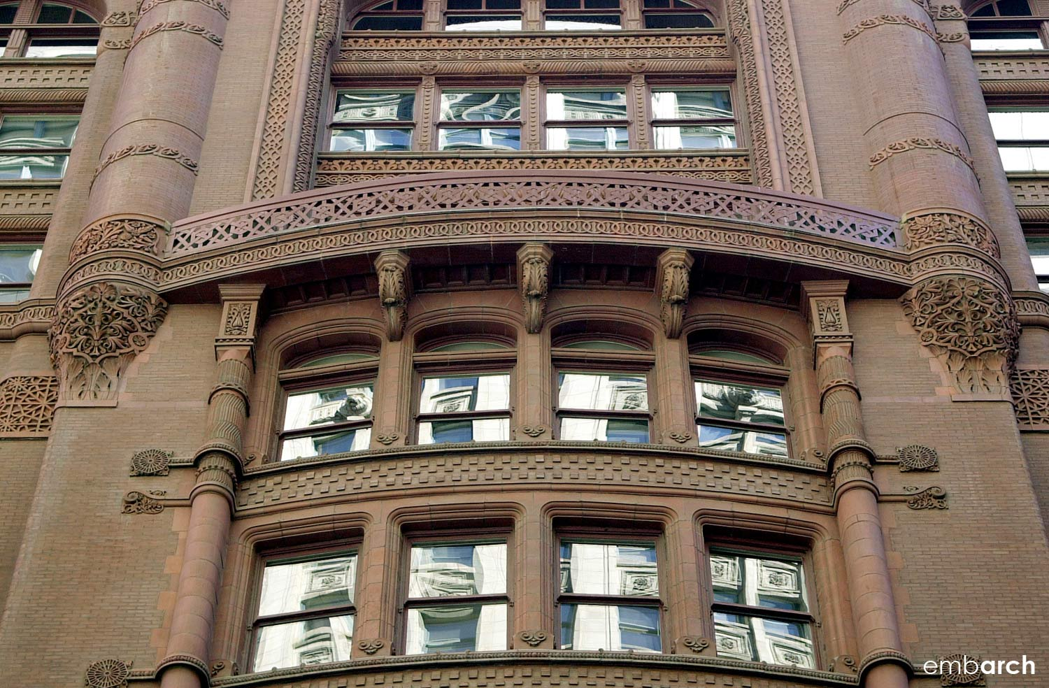 Rookery Building - exterior