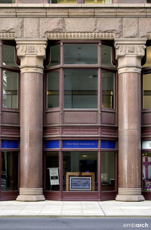 Rookery Building - facade