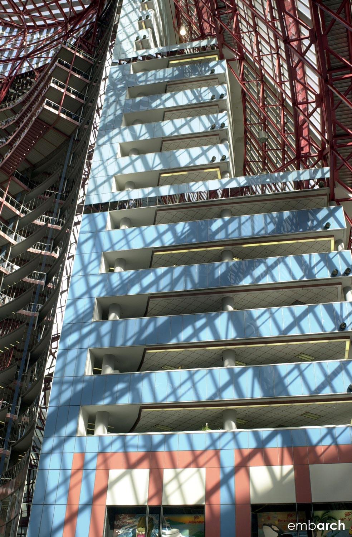 James R. Thompson Center - interior atrium detail