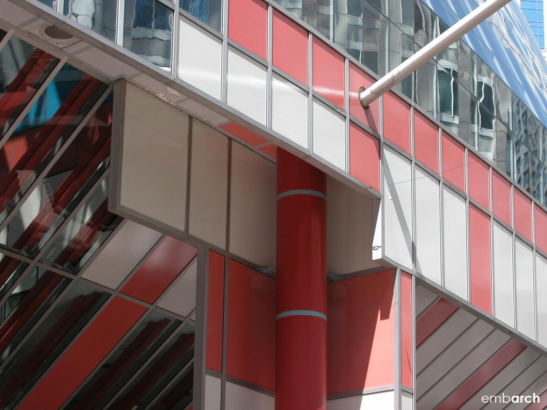 James R. Thompson Center - exterior detail