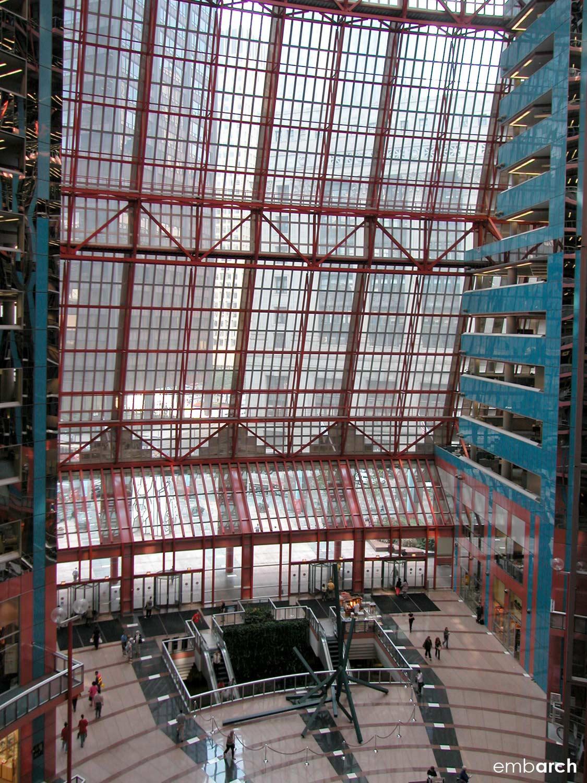 James R. Thompson Center - interior atrium view