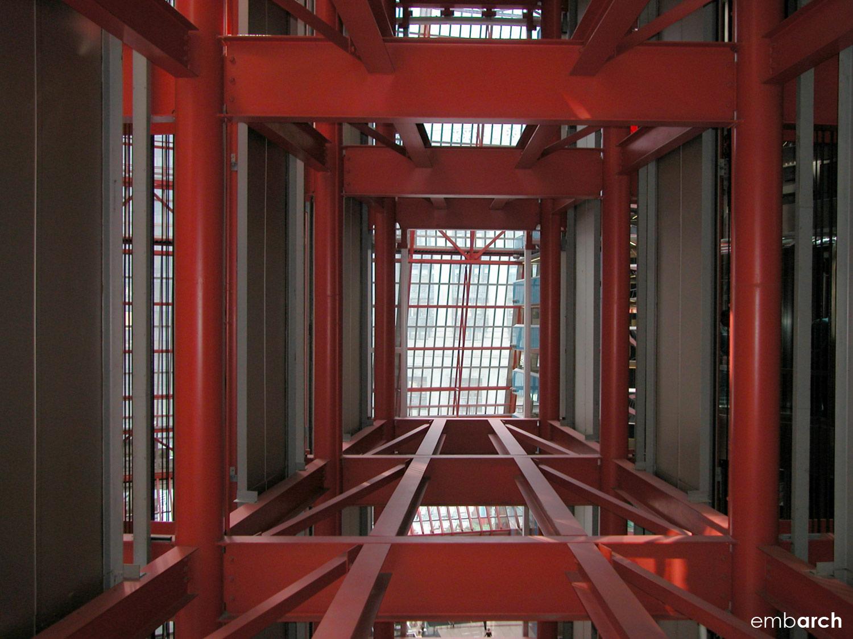 James R. Thompson Center - interior structural detail
