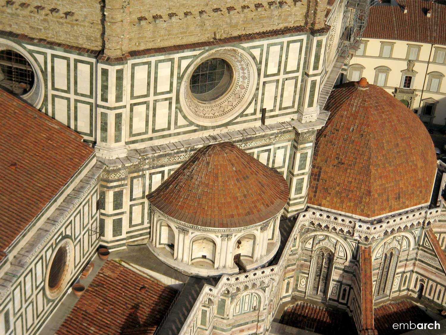 Florence Cathedral (Duomo) - exterior roofscape