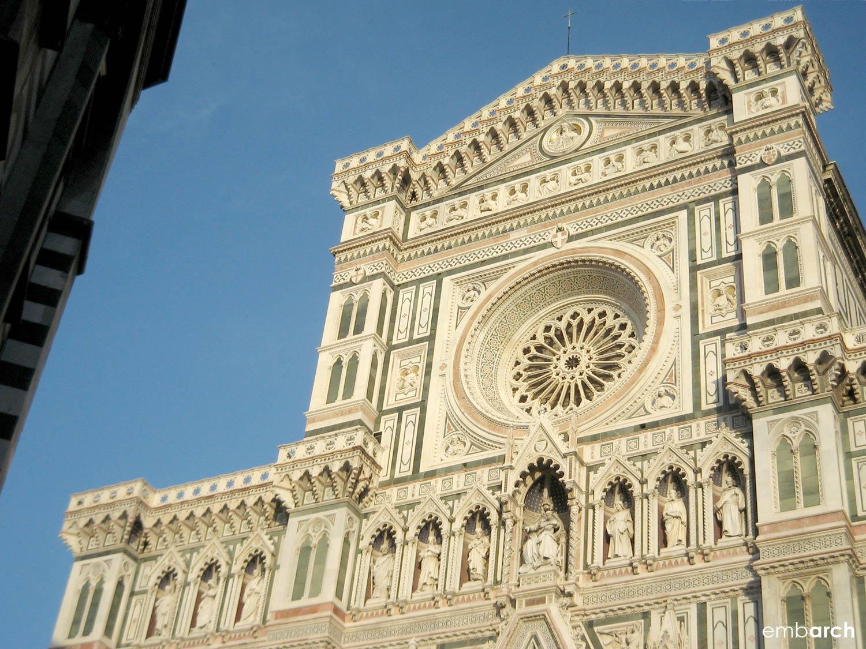 Florence Cathedral (Duomo) - exterior main facade