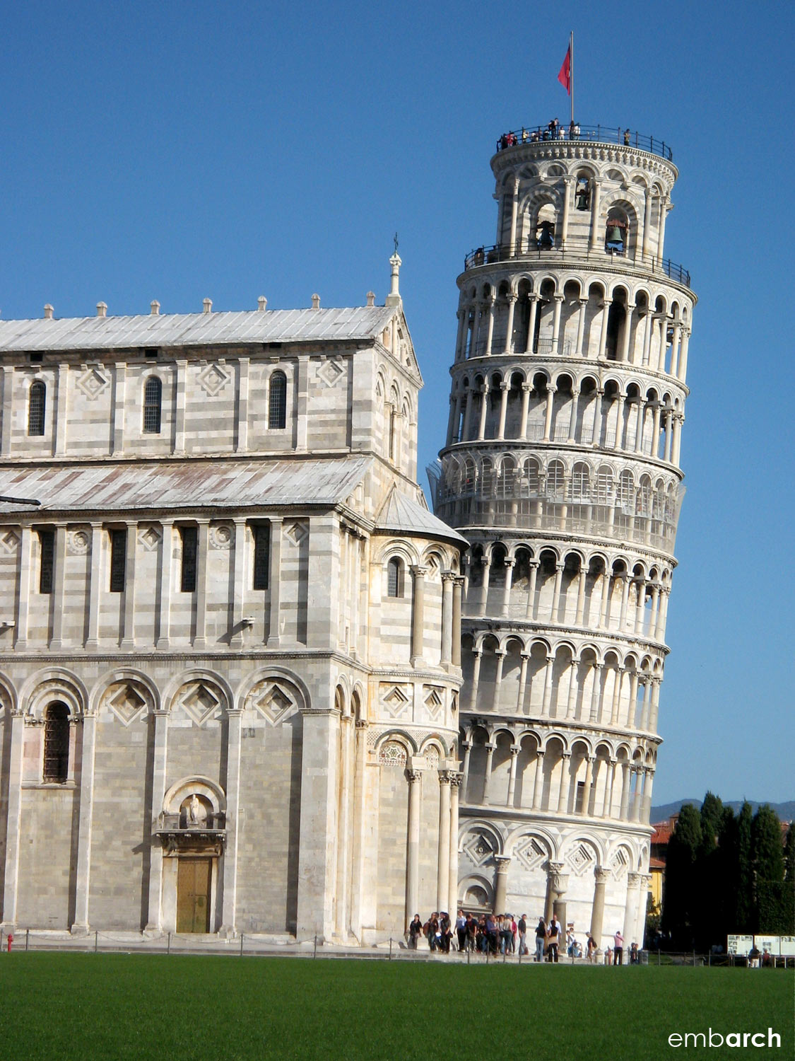 Piazza del Duomo - the Leaning Tower of Pisa