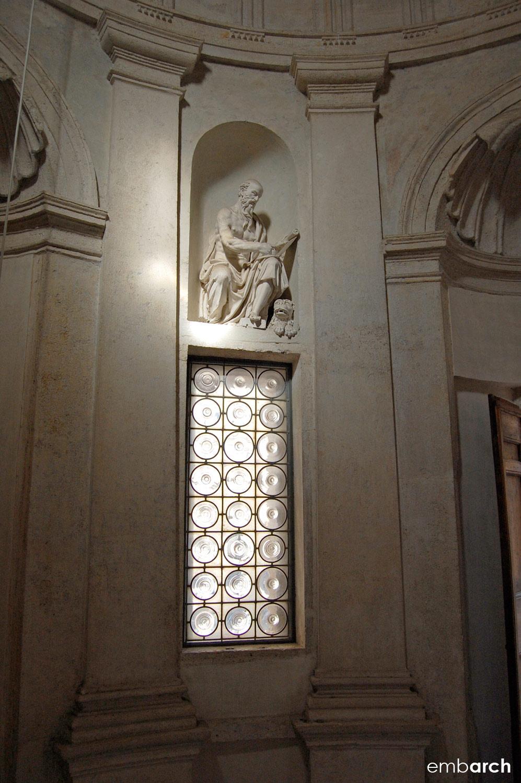 Tempietto - interior detail