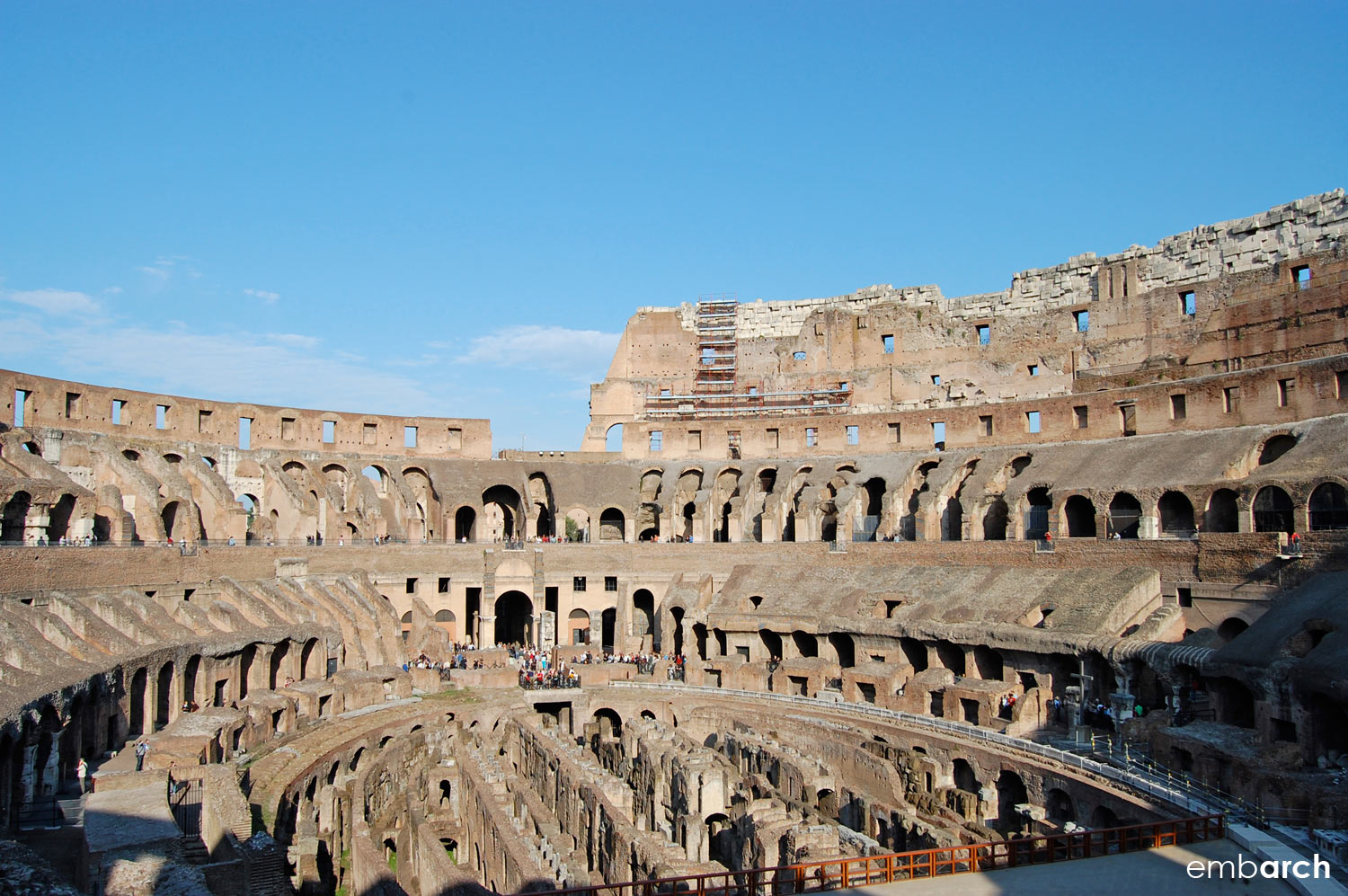 Colosseum - view of arena