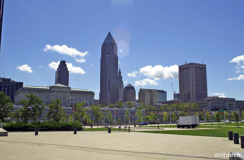 Cleveland's skyline