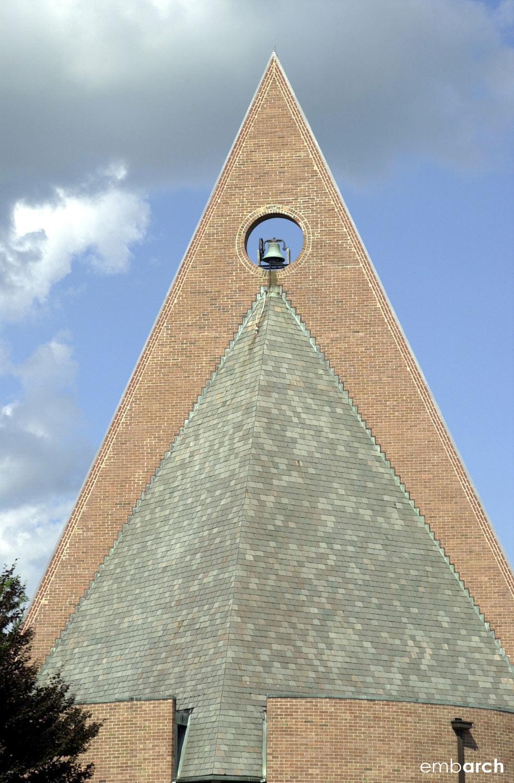 First Baptist Church - exterior detail