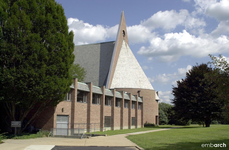 First Baptist Church - exterior view