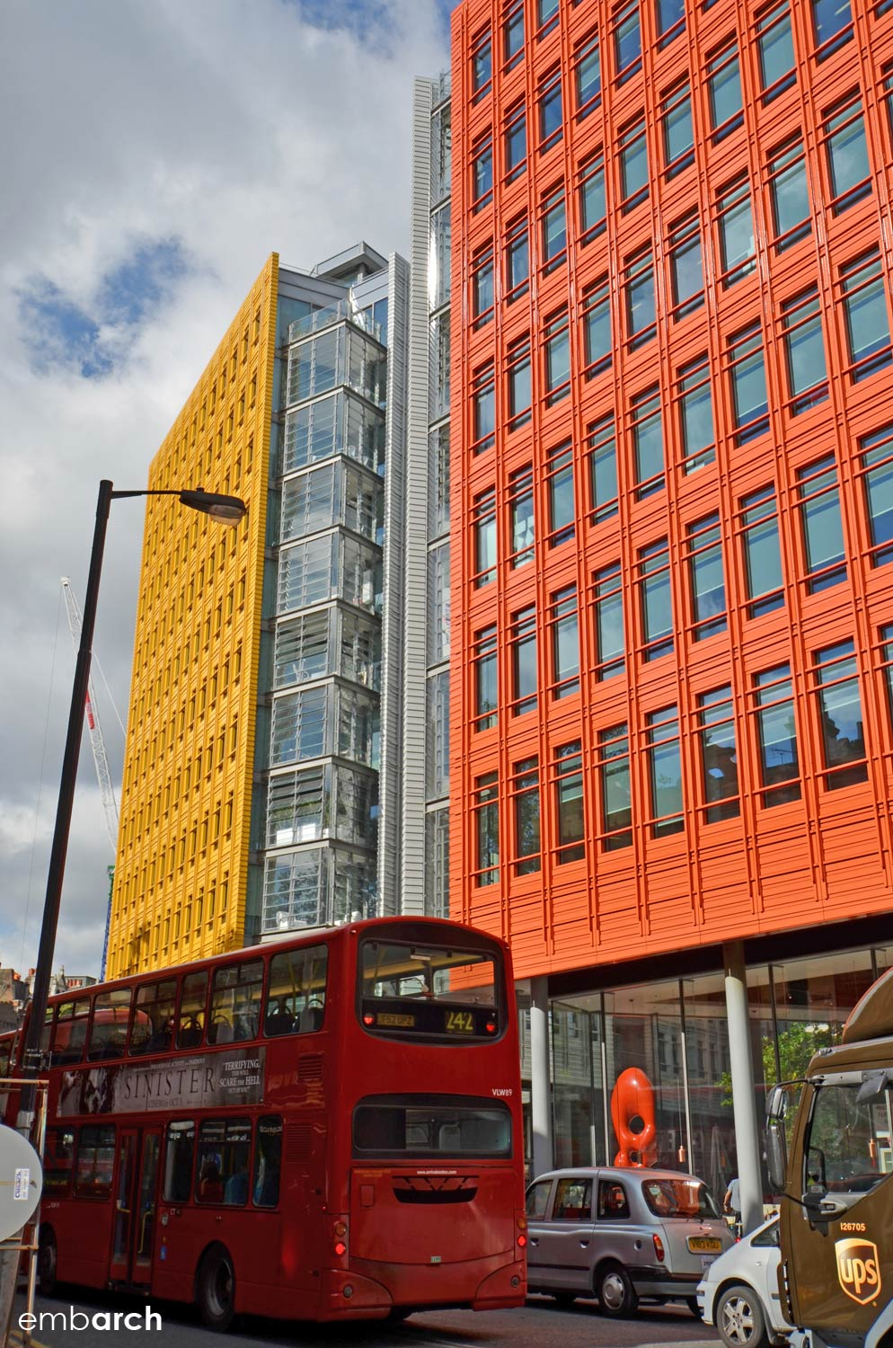 Central St. Giles Court - exterior