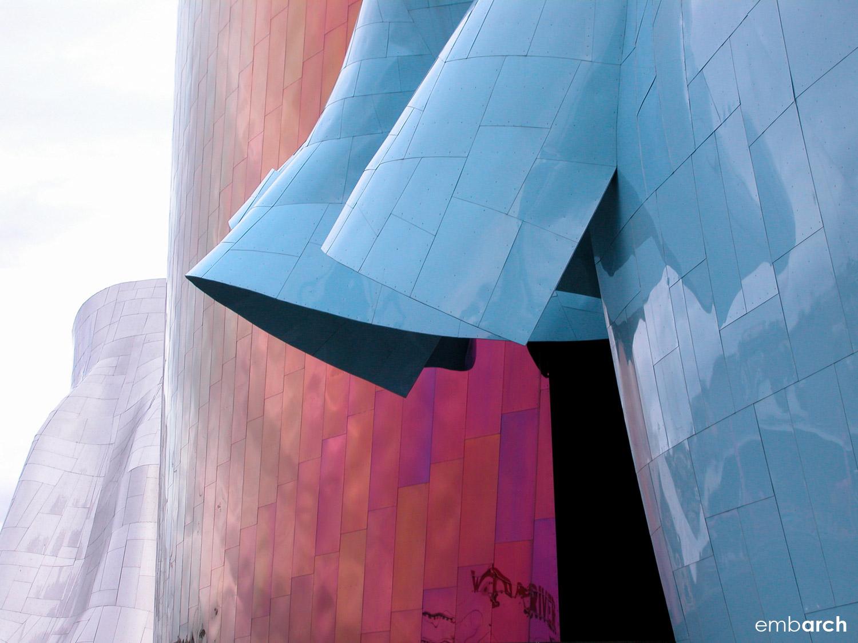 EMP Museum - exterior detail