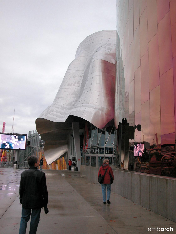EMP Museum - exterior view