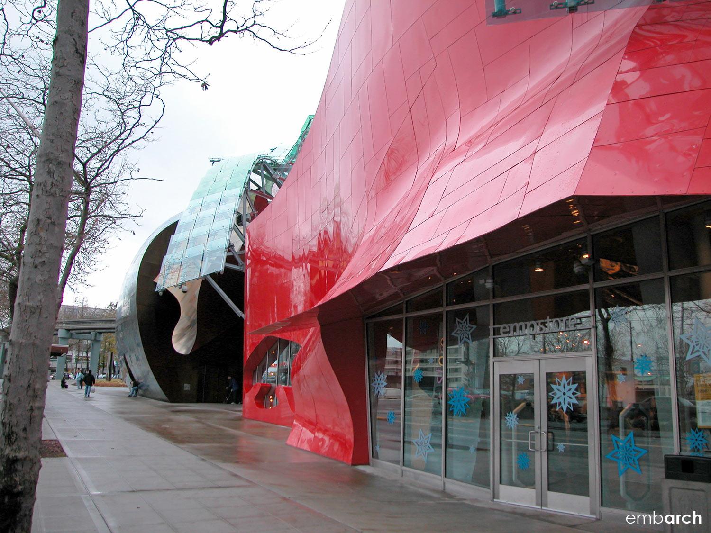 EMP Museum - exterior
