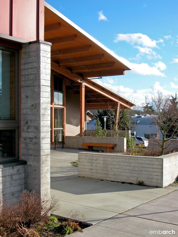 Bainbridge Island City Hall - exterior